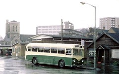 Aldershot & District: 419 419DHO 1962 AEC Reliance 2MU3RV Park Royal DP41F in Onslow Street Bus Station, Guildford. (Mega Anorak) Tags: bus guildford parkroyal reliance aec aldershotdistrict 2mu3rv