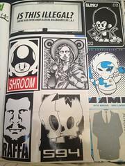 My book (Dirt diggler1) Tags: losangeles stickers soma gn rebs 818 lagraffiti deger gnk 818graffiti n46er graffstickers agroh graffneed venicegraffwalls