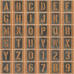Stencil Type Letters & Numbers (Leo Reynolds) Tags: fdsflickrtoys photomosaic alphabet alphanumeric letterset 0sec abcdefghijklmnopqrstuvwxyz0123456789 hpexif mosaicalphanumeric xleol30x xphotomosaicx xxx2012xxx