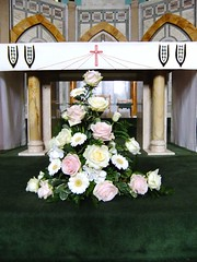 Altar Arrangement (Vicky Spence) Tags: