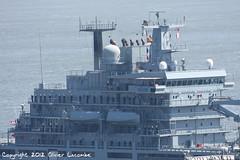 """""""Frankfurt am Main"""" A1412 (comiquaze) Tags: am frigate naval frankfurtammain rendezvous québec deutschemarine einsatzgruppenversorger canonef100400mmf4556lis a1412vieuxquébecemdenf210frankfurt maina1412"""