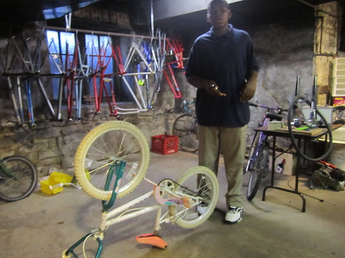 "Stripping down some bikes • <a style=""font-size:0.8em;"" href=""http://www.flickr.com/photos/52992303@N05/7401933754/"" target=""_blank"">View on Flickr</a>"