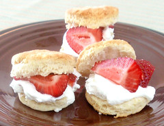 Baking Powder Biscuits Served Shortcake-style