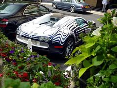 L'Or Blanc (BenGPhotos) Tags: blue plants white london car sport ceramic unique grand lor bugatti blanc rare supercar spotting w16 veyron hypercar