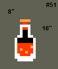 Medium- Zelda Health Potion (8bitace) Tags: wood old game art design 8 sprite oldschool retro pot health pixel cube videogame zelda blocks block 8bit cubes pixels bit pixelated potion healthpotion 8bitace healthpot