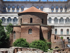 St.George Rotunda Church (Alexanyan) Tags: city church st george ancient sofia capital rotonda kirche christian chiesa bulgaria area christianity balkans rotunda orthodox eglise sait bulgarian sveti