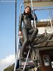 Wetsuited Beauty (Black1005b) (mixnuts club) Tags: fetish scuba diving rubber diver wetsuit wetsuits frogwoman divinggirl rubbersuits
