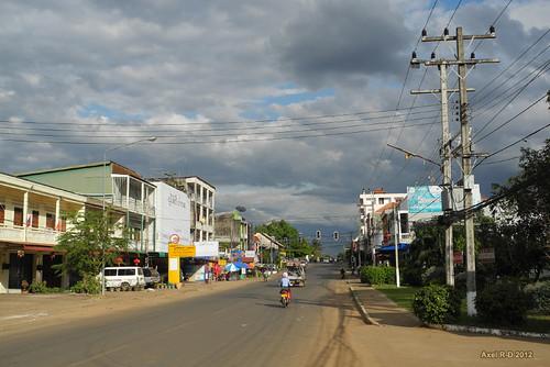Downtown Pakse