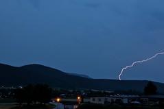 Blitze rund um Wurflach (Fotopopst) Tags: austria nikon balkon natur blitz langzeitbelichtung d90 osterreich nikond90 dammerung niederosterreich wurflach