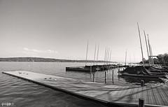 Dark Grey. ( Dominik J. Photography) Tags: sea lake water canon dark see boote dslr 1740mm starnbergersee weitwinkel 5dmarkii dominikjakob