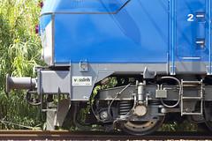 Placa Vossloh 335 Comsa. (Escursso) Tags: barcelona spain diesel electro motive emd 335 castellbisbal vossloh comsa euro4000 335001