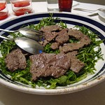 "Vitello con Rucola <a style=""margin-left:10px; font-size:0.8em;"" href=""http://www.flickr.com/photos/14315427@N00/7511992474/"" target=""_blank"">@flickr</a>"