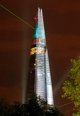 Shard illuminations (CdL Creative) Tags: england london canon geotagged eos illuminations shard riverthames se1 50d cdlcreative geo:lon=00745 geo:lat=515070
