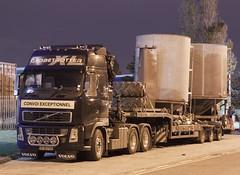 Volvo FH SF56 FOD (gylesnikki) Tags: black truck artic convoiexceptionnel