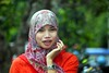 IMG_8126fr (Mangiwau) Tags: girl smiling scarf indonesia asian tanya veil braces teeth hijab gigi sulawesi islamic headdress minta mete kebun kacang dentures jilbab berani aswin cewek kendari gigit sultra behel laode