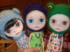 Trufa,Kaily y Celeste