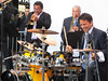 Peter Michael Escovedo on drums