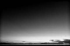 Colorless Sunset (Nelson Vargas Photo) Tags: blackandwhite bw monochrome night photography utah saltlakecity greatsaltlake 2012 gsl d800 sigma24mmf18exdg nelsonvargas nikond800 silverefexpro2