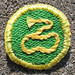 Moonrise Kingdom Khaki Scouts of North America Lasso Badge