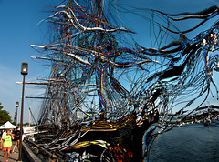 Tangled Bounty (Rusty Russ) Tags: new old storm color america photoshop for google flickr sailing ship image sale earth massachusetts photographers manipulation hampshire filter montage damage getty ropes improved bounty bing direct facebook tangled manipulate unravelled stumbleupon daum