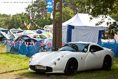 TVR Tuscan S (BenjiAuto (Ratet B. Photographie)) Tags: road park camping trees shadow white france english cars sport race stand nikon lotus flag parking gear pit racing course exotic mans le lane british hours 24 autos typical races unionjack circuit luxury supercar v8 v10 tvr noble supercars dunlop paddock chicane tuscan tamora 18105 lms courbe 55200 sagaris sarthe paddocks heures d90 argane ratet worldcars hypercars hunaudires muslanne