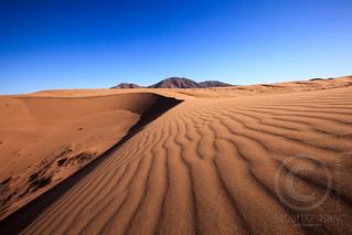 Dune Patterns in the Atakama Desert