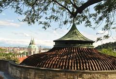 View from Prague castle (nordic lady) Tags: summer holiday castle film beer ma boat republic czech prague fort sightseeing prag praha crew pilsner urquell 2012 staropramen smetana moldau vlast