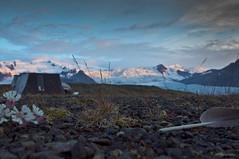 DGUN / DAYBREAK (HPHson) Tags: camping iceland lagoon glacier vatnajkull jkull ln fjallsjkull mli fjallsrln breiamerkurfjall hphson tjalda