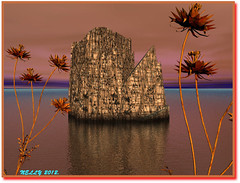 *My island... (MONKEY50) Tags: summer sky orange plants brown plant color colour art colors digital colours surrealism july fantasy bryce paintshoppro hypothetical beautifulphoto artdigital flickraward firsttheearth colourartaward awardtree flickraward5 exoticimage blinkagain photographyforrecreation