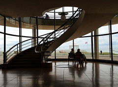 Retirement (larigan.) Tags: spiral couple sitting staircase artdeco retirement seasideresort iphone bexhillonsea delawarrpavilion watchingtheworldgoby larigan phamilton unrecognisablepeople gettyimageswants gettywants iphone4s capturingenglishsummer