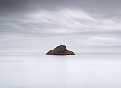 Rock (Stuart Stevenson) Tags: uk england sky rain clouds photography grey coast scotland rocks waves tide earlymorning minimal desaturated englishchannel lulworth britishsummer jurassiccoast clydevalley canon1740 dorest thanksforviewing canon5dmkii stuartstevenson seascapesea stuartstevenson sunrisehonest