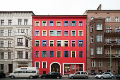 (Design.Her) Tags: trip travel red urban berlin architecture facade germany studio berkeley nikon colorful europe bright wideangle tokina d90 1116mm designher