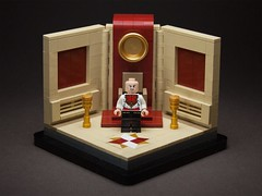 #6. Royal Flash ( Part 2 ) (workshysteve) Tags: lego flash royal harry throne germanic flashman