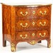 108. French Inlaid and Ormolu Mounted Commode
