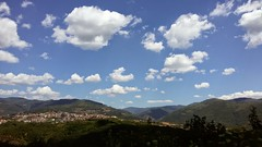 Summer sky (Cacummaro) Tags: blue red summer sky italy green clouds serenity calabria nwn 2016 savuto samsungs3neo
