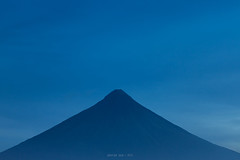 Fade into the Blue | Mayon Volcano (gpqua) Tags: mayon volcano albay bicol philippines perfect cone mist blue hour landscapes outdoor peace serene calm relaxing zen daragang magayon