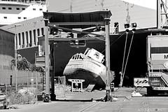 Neglect and Decay in the SeaPort - #CT #Sicilia #Italia . (rossolavico) Tags: sicilia catania katane squatritomassimilianosalvatore rossolavico centrostoricocatanese nikond3100 nikon fileraw filerawnef filerawnefconversionjpeg flickrsicilia viewnx2users marionio ioniansea imbarcazioni boat cielo sky nuvole clouds portodicatania seaport degrado abbandono incivilt malattie morte omert indifferenza convivenza mare sea spazzatura plastica buste bottiglie lattine centro popolato cancro italia italy europa europe negligenza ignoranza discarica alba sunrise