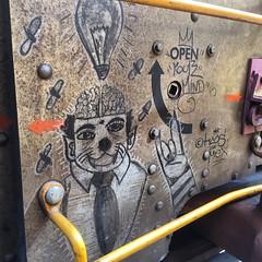 (MC. Squared) Tags: streak freight graffiti moniker haos mex openyourmind