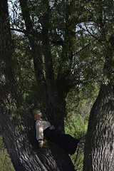 (Adanethel) Tags: tree nature woman girl portrait outdoor green