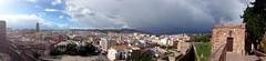 Málaga Sonnenpanorama