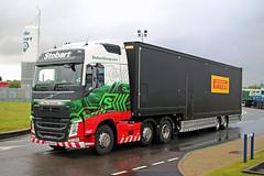 H4949 CLARE SAMANTHA  PIRELLI (Barrytaxi) Tags: eddie eddiestobart stobart transport pirelli trailers