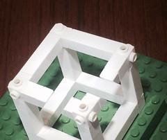 A small Lego optical illusion (askanaskan) Tags: legofan escher impossible opticalillusion legoarchitecture lego