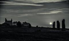Minions Dawn... (Go placidly amidst the noise and haste...) Tags: thehurlers minions southphoenixmine stonecircle standingstones neolithic bronzeage tinmine mine cornwall bodminmoor southwest westcountry enginehouse housemansenginehouse dawn sunrise sun silhouette coppermine silverefex mono blackwhite contrejour intothelight blackwhitepassionaward distinguishedblackandwhite thesun