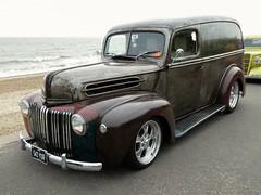 1946 Ford Van (Peter M Garwood) Tags: felixstowe prom nasc streetcar customcar
