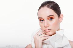 Sofi (www.facebook.com/LuciaOscanoaFotografia) Tags: beauty beautiful model black hair face girls orange photography luciaoscanoa photo nikon futurista