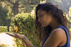 Giulia e la farfalla (Pistolozzi Marco) Tags: canoneos700d obiettivo1855stm modelle photography villafiori bagni di lucca giulia ragazze passerella allaperto posa munuale bagnidiluccatuscany