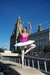 DSC06385 (liverpix) Tags: cleo dog performing anthonywalsh photowalk 500px liverpool pierhead liverbuilding ballerina ballet