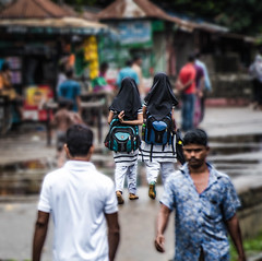 Our Own Way >>>>>>> (mithila909) Tags: girl people streetphotography