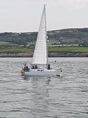 4094 A proper yacht Menai lll (Andy panomaniacanonymous) Tags: 20160907 cruise headland hhh lll menailll mmm pointlynas ppp roundtrip sailing sss trwyneilian yacht ynysmon yyy