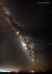 Milky way. (ladyvelasco20) Tags: galaxy milkyway stars starrynight nightphotography night vialactea colombia longexposurephotography longexposure sky estrellas galaxia universe